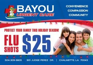 Bayou Urgent Care Flier